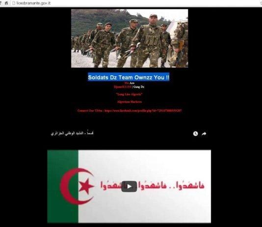 cyber terrorismo Isis sito web liceo Bramante