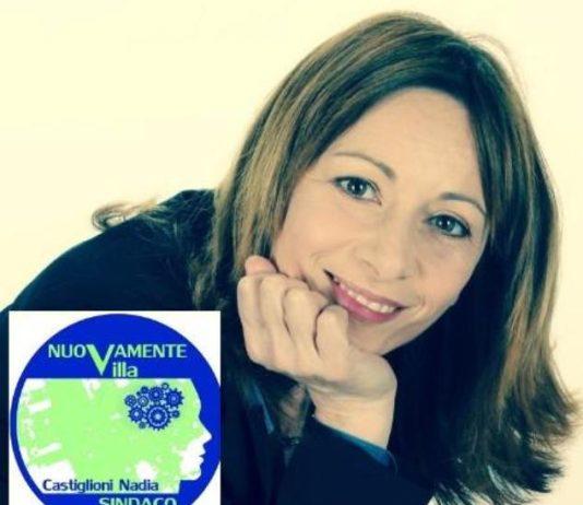 Nadia Castiglioni candidato sindaco elezioni 2016 Villa Cortese