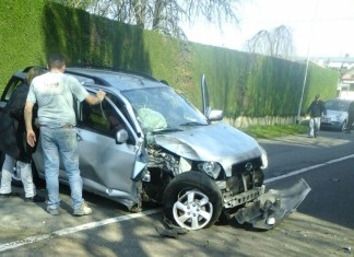 magnago incidente 3 anziani feriti via trieste