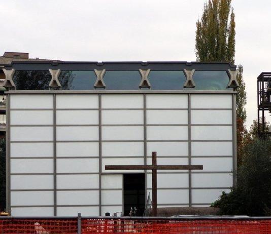 chiesa di vetro baranzate bollate cardinal montini