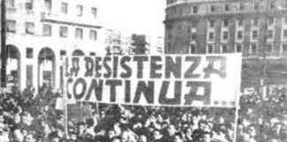 resistenza 25 aprile fascisti cretini pericolosi