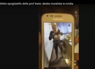 scuola prato spogliarello prof transessuale