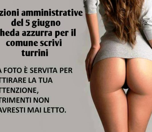 mario turrini foto sedere donna manifesto elezioni 2016 bologna
