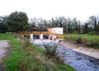 canale Scolmatore tra Cornaredo e Settimo Milanese.