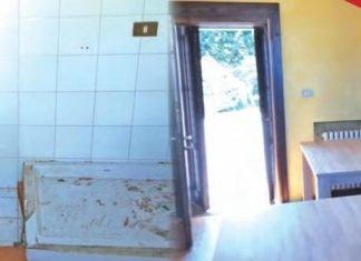 magenta cascina calderara 50 profughi interni camere bagno