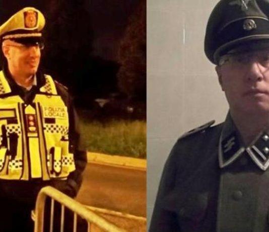 giorgio piacentini vigile marcallo biassono divisa nazista ss