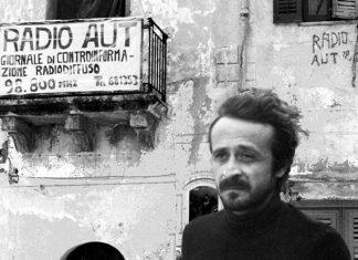 Peppino Impastato, ucciso dalla mafia nel 1978.
