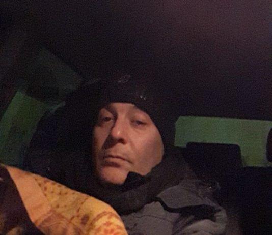 Giancarlo Menchetti 52enne costretto a dormire in auto