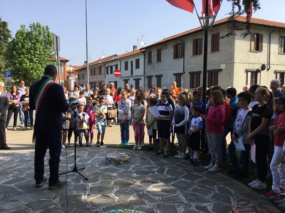 25 Aprile 2018 - Il sindaco parla alle nuove generazioni