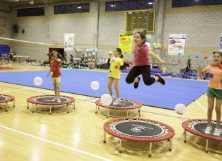 Jump junior è una delle attività che i bambini possono svolgere presso il Palazzetto di Sedriano