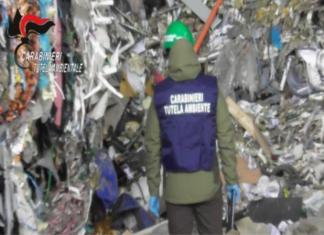 sequestrato capannone rifiuti